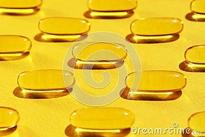 De vitaminen van het gel