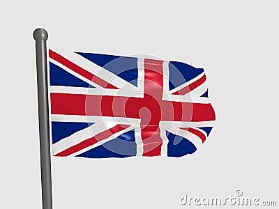 de vlag groot brittanni 235