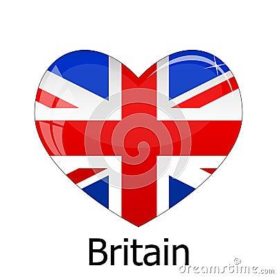 de vlag groot brittanni 235 stock afbeelding afbeelding