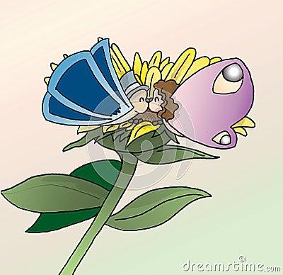 De vlinder van de liefde