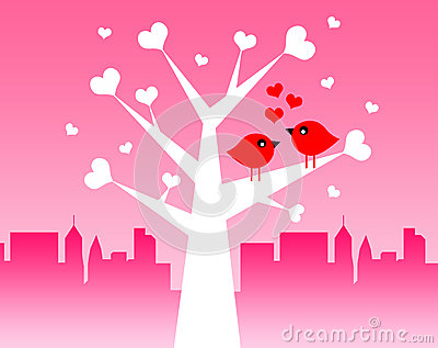 De vogels van de liefde