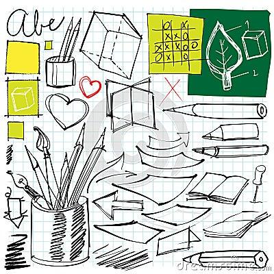 De volta aos doodles da escola