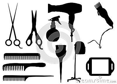 De voorwerpen van het kappen
