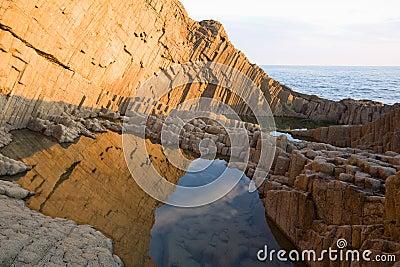 De vorming van de rots