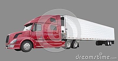 De vrachtwagen van de vracht