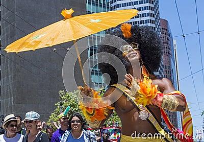De vrolijke trots van San Francisco Redactionele Fotografie