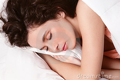 De vrouw van de slaap