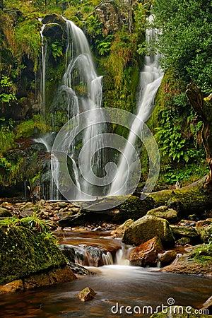 De waterval van de Kieuw van Posforth