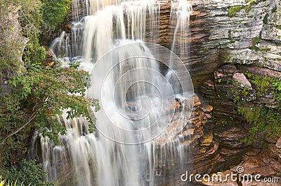 De Waterval van de wildernis