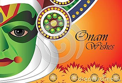 De wensen van Onam voor Indisch festival van Onam