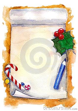 De wenslijst van Kerstmis