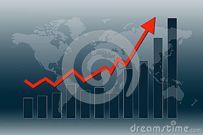 De wereldeconomie krijgt terug
