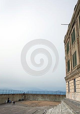 Oefeningswerf in Alcatraz