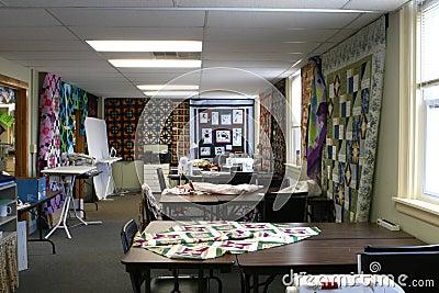 De werkruimte van het Dekbed
