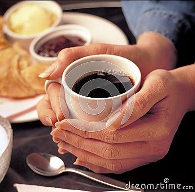 De winkel van de koffie
