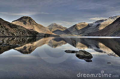 De winter in Wasdale