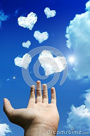 De wolk van de liefde