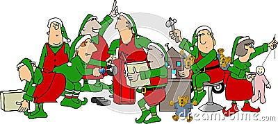 De Workshop van de kerstman