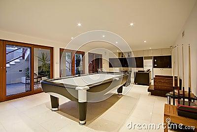 De Zaal van de Recreatie van de luxe