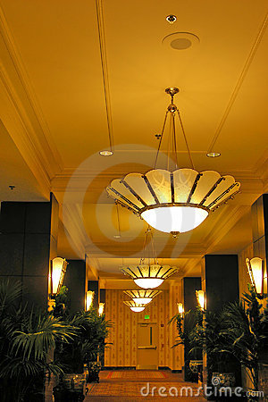 De Zaal van het hotel