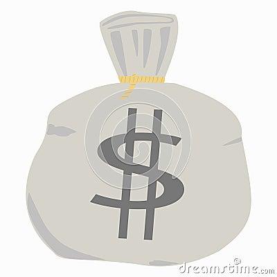 De zak van het geld.