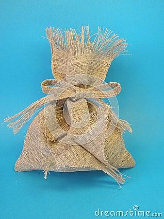 De zak van het linnen