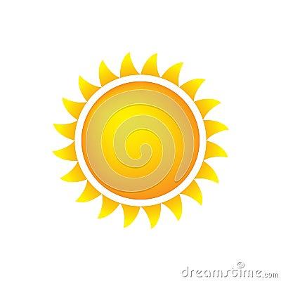 De Zon van het Pictogram van het weer