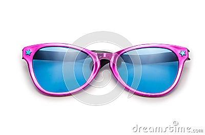 De zonnebril van de partij