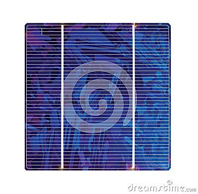 De Zonnecel van het silicium