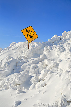 Free Dead End Stock Photography - 13190092