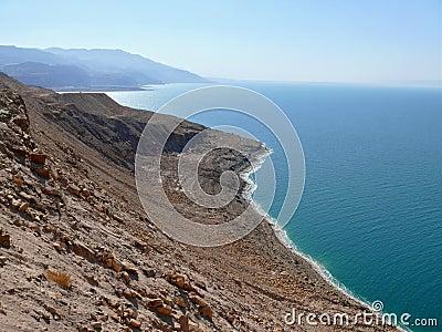 Dead sea in Jordan.