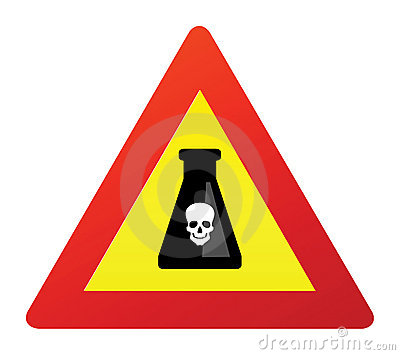 Deadly poison sign