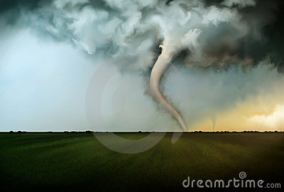 Deadly Tornado Stock Images - Image: 14269234