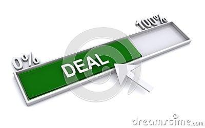 Deal progress bar