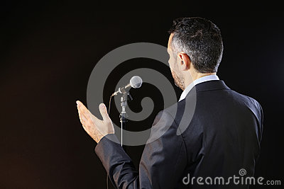 Dealing with the fear of public speaking
