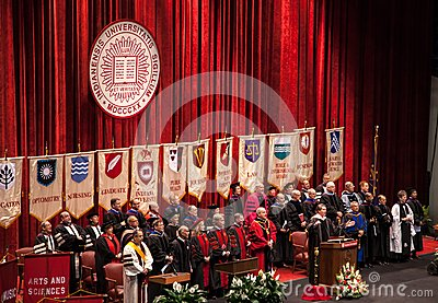 Deans of the colleges of Indiana University Editorial Image