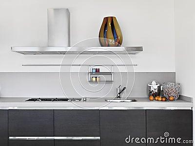 Deatail of modern kitchen