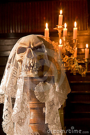 Death with a bridal veil