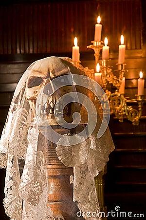 Death with a bridal veil