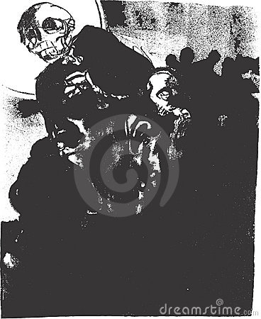 Death Lithograph