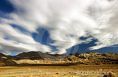Death valley clouds 1