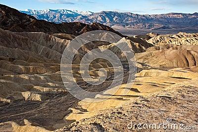 Death Valley Desert Hills
