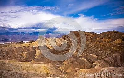 Death Valley Desolated Scenery