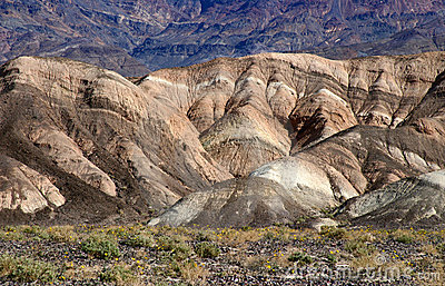 Death Valley Geology and Landscape