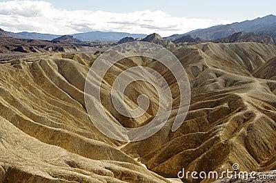 Death valley hills