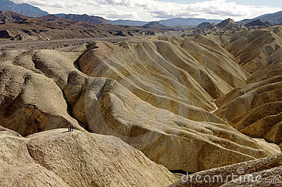 Death valley hills