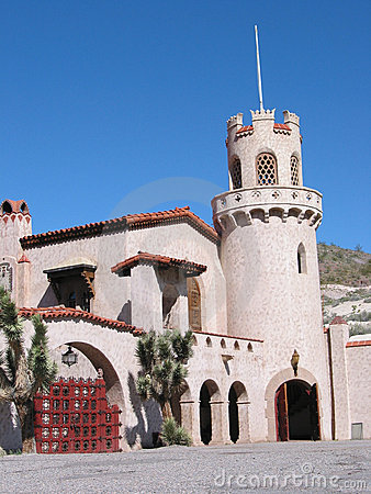 Death Valley Scotty s Castle Closeuup