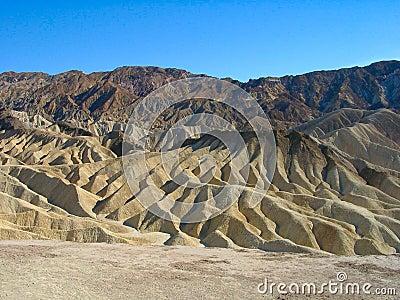 Death Valley: Zabriskie Punkt
