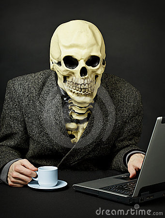 Death walks in Internet
