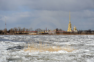 Debacle on the Neva river